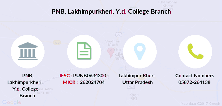 Punjab-national-bank Lakhimpurkheri-y-d-college branch