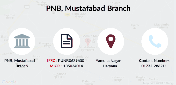 Punjab-national-bank Mustafabad branch