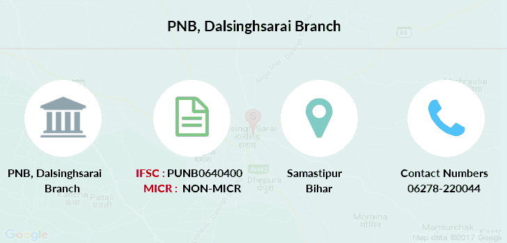 Punjab-national-bank Dalsinghsarai branch