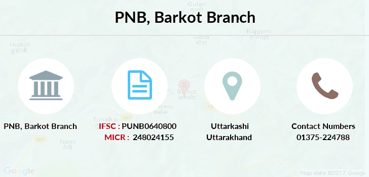 Punjab-national-bank Barkot branch