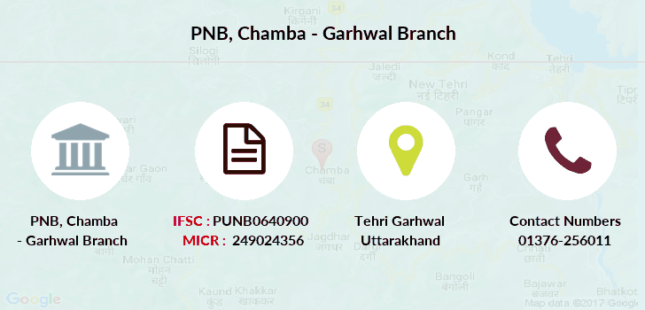 Punjab-national-bank Chamba-garhwal branch
