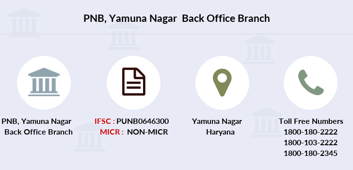Punjab-national-bank Yamuna-nagar-back-office branch