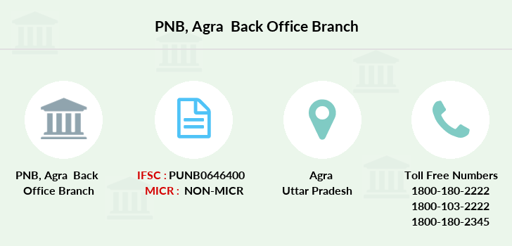 Punjab-national-bank Agra-back-office branch