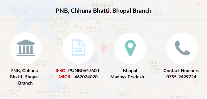 Punjab-national-bank Chhuna-bhatti-bhopal branch