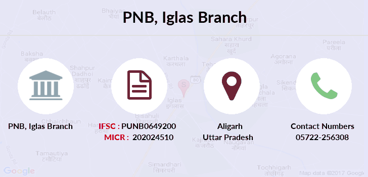 Punjab-national-bank Iglas branch