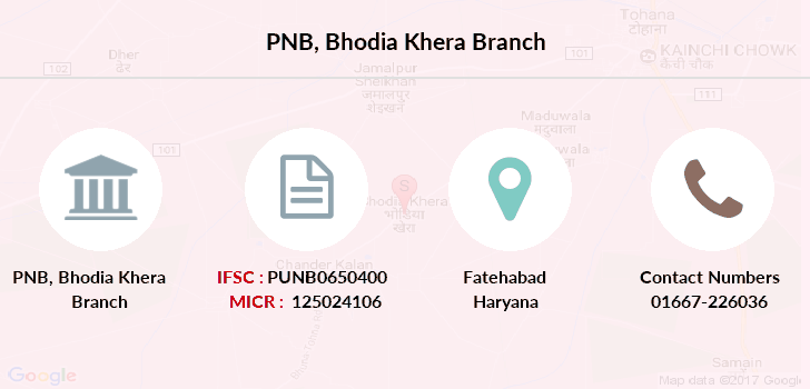 Punjab-national-bank Bhodia-khera branch
