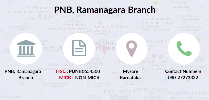 Punjab-national-bank Ramanagara branch
