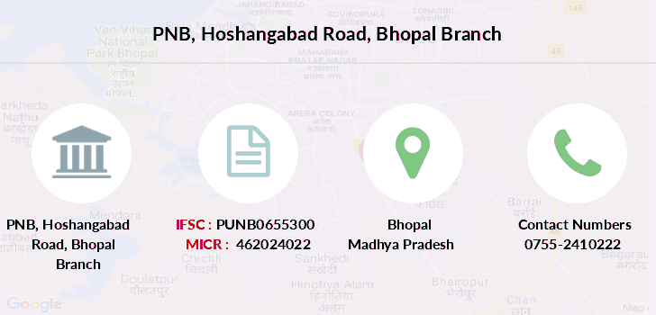 Punjab-national-bank Hoshangabad-road-bhopal branch