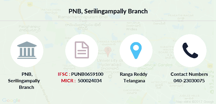 Punjab-national-bank Serilingampally branch