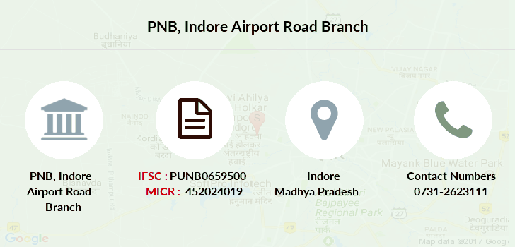 Punjab-national-bank Indore-airport-road branch