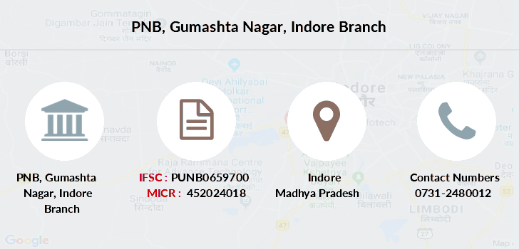 Punjab-national-bank Gumashta-nagar-indore branch