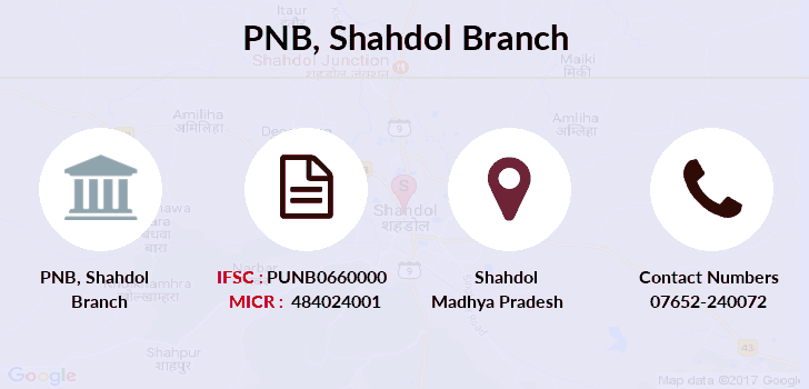 Punjab-national-bank Shahdol branch