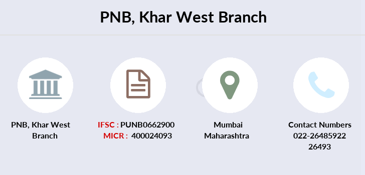 Punjab-national-bank Khar-west branch