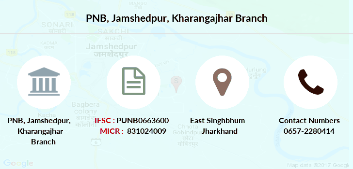 Punjab-national-bank Jamshedpur-kharangajhar branch