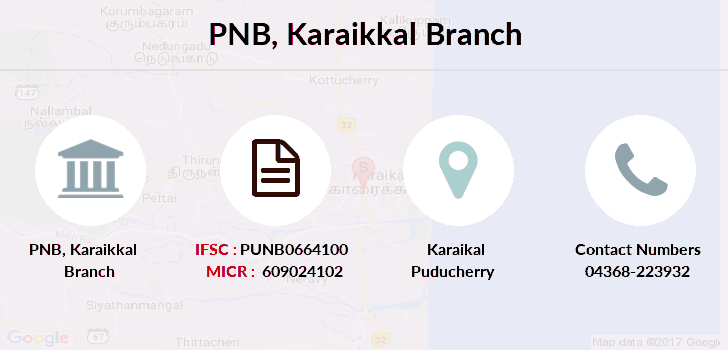 Punjab-national-bank Karaikkal branch