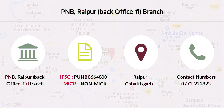 Punjab-national-bank Raipur-back-office-fi branch