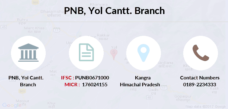 Punjab-national-bank Yol-cantt branch