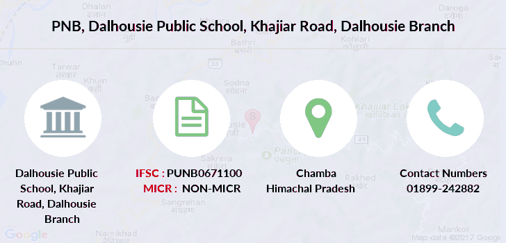 Punjab-national-bank Dalhousie-public-school-khajiar-road-dalhousie branch