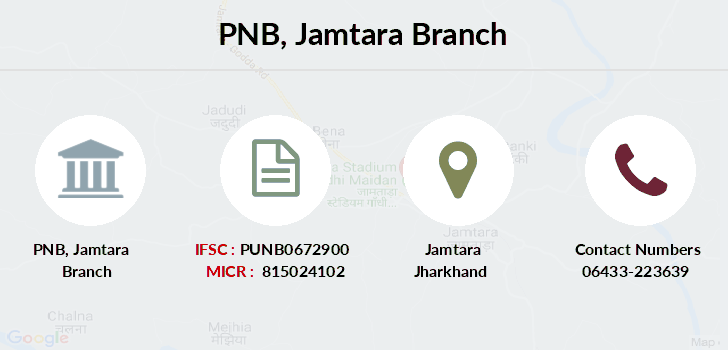 Punjab-national-bank Jamtara branch