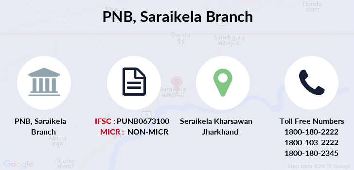 Punjab-national-bank Saraikela branch