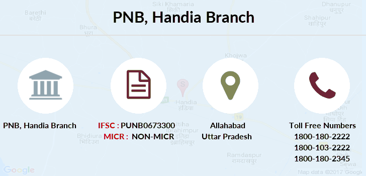 Punjab-national-bank Handia branch