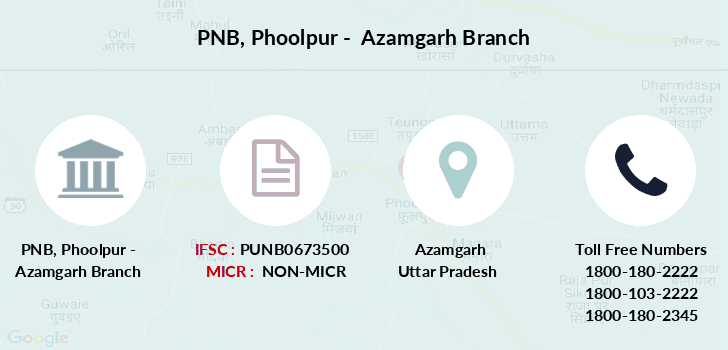 Punjab-national-bank Phoolpur-azamgarh branch