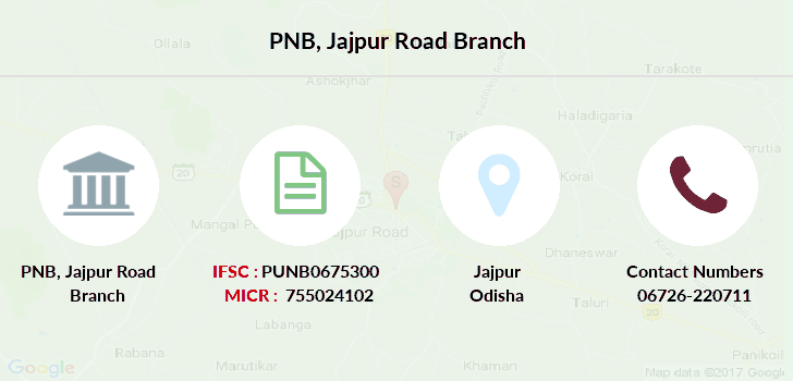 Punjab-national-bank Jajpur-road branch