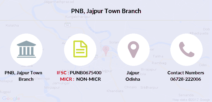Punjab-national-bank Jajpur-town branch