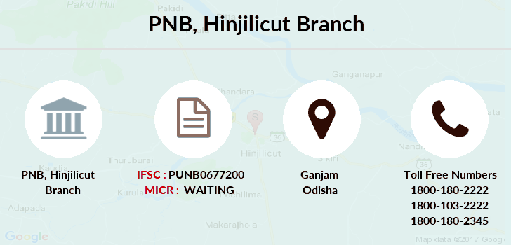 Punjab-national-bank Hinjilicut branch