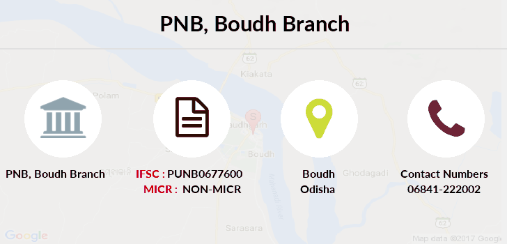 Punjab-national-bank Boudh branch