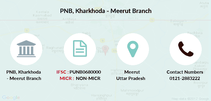 Punjab-national-bank Kharkhoda-meerut branch