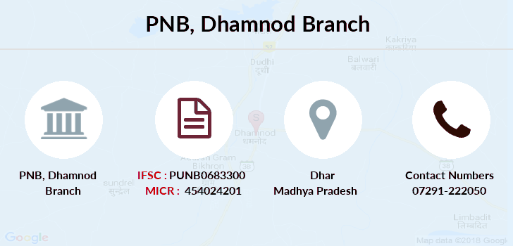 Punjab-national-bank Dhamnod branch