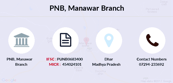 Punjab-national-bank Manawar branch