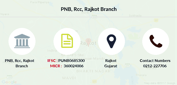 Punjab-national-bank Rcc-rajkot branch