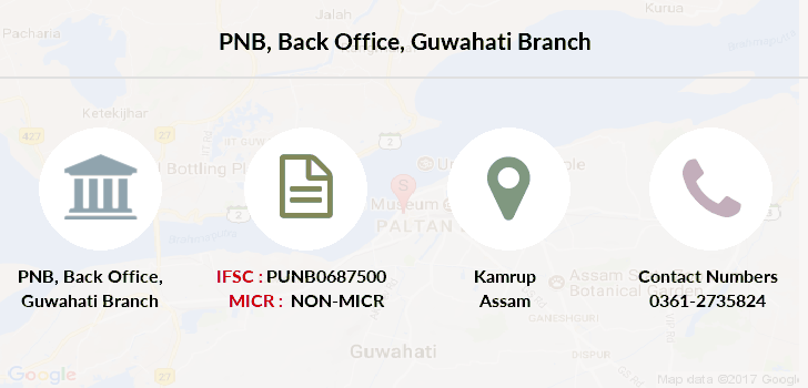 Punjab-national-bank Back-office-guwahati branch
