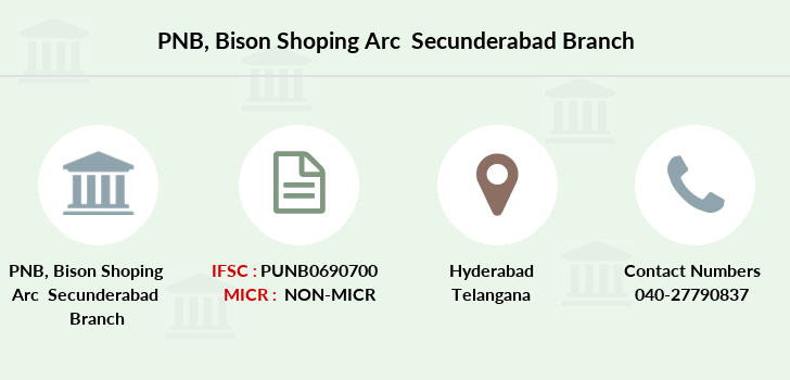 Punjab-national-bank Bison-shoping-arc-secunderabad branch