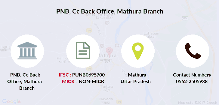 Punjab-national-bank Cc-back-office-mathura branch