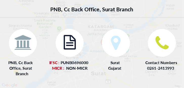 Punjab-national-bank Cc-back-office-surat branch