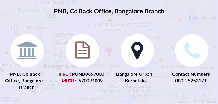 Punjab-national-bank Cc-back-office-bangalore branch