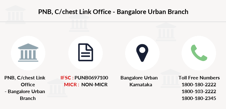 Punjab-national-bank C-chest-link-office-bangalore-urban branch