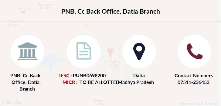 Punjab-national-bank Cc-back-office-datia branch