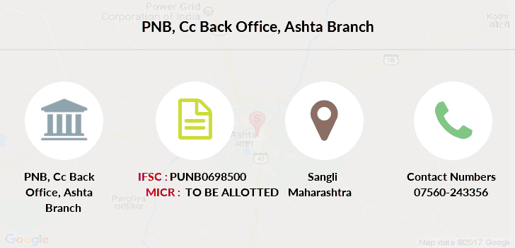 Punjab-national-bank Cc-back-office-ashta branch