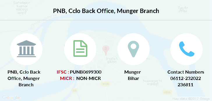 Punjab-national-bank Cclo-back-office-munger branch