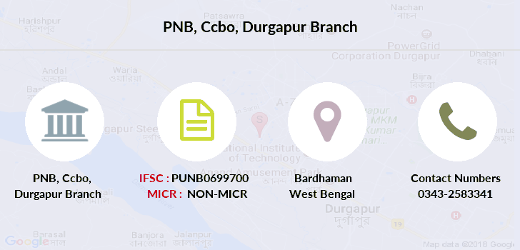 Punjab-national-bank Ccbo-durgapur branch