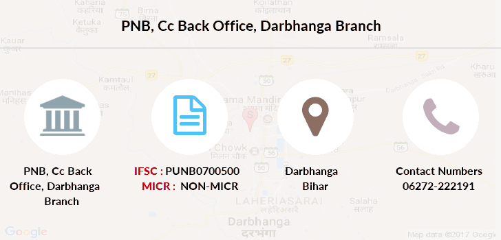 Punjab-national-bank Cc-back-office-darbhanga branch