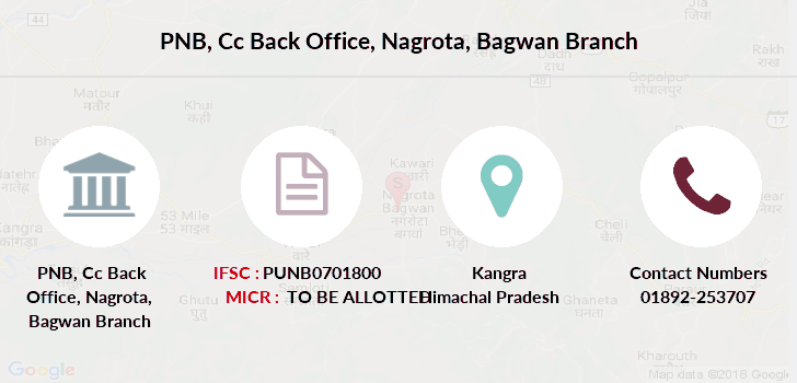 Punjab-national-bank Cc-back-office-nagrota-bagwan branch
