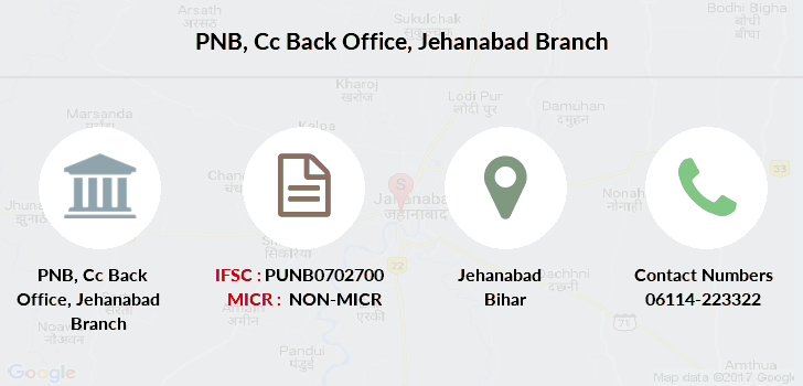 Punjab-national-bank Cc-back-office-jehanabad branch
