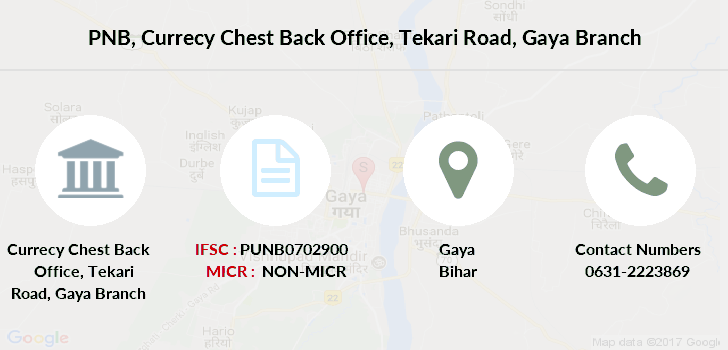 Punjab-national-bank Currecy-chest-back-office-tekari-road-gaya branch
