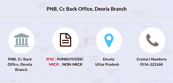 Punjab-national-bank Cc-back-office-deoria branch