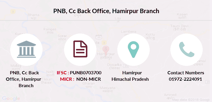Punjab-national-bank Cc-back-office-hamirpur branch